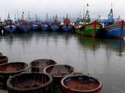 Typhoon Nock-ten abates in East Sea