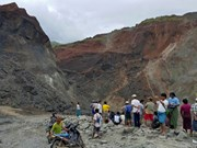 Landslide kills at least 20 in Myanmar