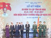 Ha Nam urged to develop industries of high added value