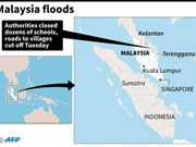 Malaysia: Thousands of people evacuated due to flood