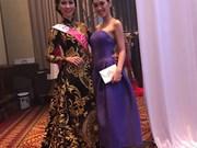 Vietnamese beauty wins best costume at Miss Tourism International