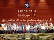Myanmar's national political dialogues open