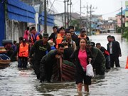 Floods continue to ravage southern Thailand