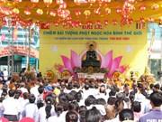 Jade Buddha statue comes to Soc Trang