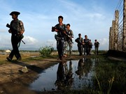 Myanmar arrests border outpost attack suspects