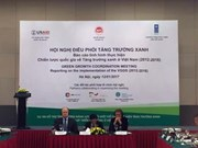 Vietnam promotes green growth