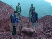 French-era bomb defused in Yen Bai