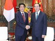 Abe thanked for devotion to Vietnam-Japan partnership