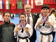 VN taekwondo athletes win gold in France