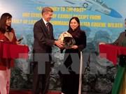 Hoa Lo relic site receives items of US war veteran