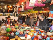 Traditional Vietnamese products on display ahead of Tet