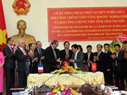 Vietnamese, French notary associations establish twin ties