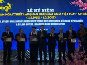 Ceremony marks Czech-Vietnam diplomatic ties