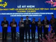 Ceremony marks Czech-Vietnam diplomatic ties