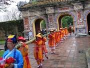 Hue: Neu pole planted to salute Lunar New Year