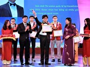 Hanoi honours outstanding youths in 2016