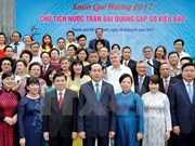 President Tran Dai Quang praises overseas Vietnamese's contributions