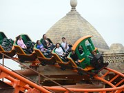 Huge theme park opens in Ha Long