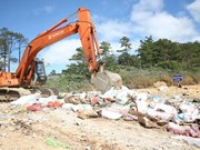 Illegal imported food items destroyed