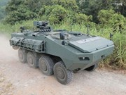 Hong Kong to return armoured vehicles to Singapore