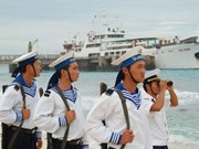 Soldiers silently safeguard Truong Sa archipelago
