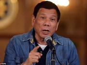 Duterte tells US not to store weapons in Philippine military camps