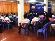Cambodian opposition party boycotts parliamentary meeting