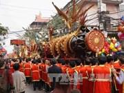 Dong Ky firecracker procession festival kicks off