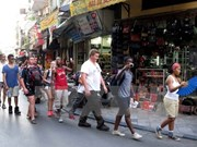 Foreign visitors to Hanoi rise at Lunar New Year