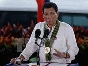 Philippine President underlines military role in anti-drug campaign