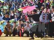Mong ethnic culture festival 2017 held in Ha Giang