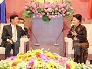 Top legislator pledges to facilitate Vietnam-Laos agreements