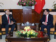 Deputy Prime Minister receives Indian Ambassador