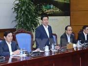 Meeting reviews government's resolution on business development