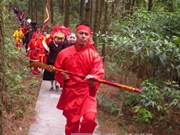 Con Son-Kiep Bac Festival: Ritual prays for peace