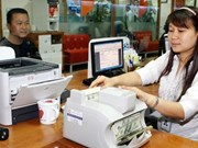 Reference exchange rate goes up 1 VND