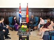 Vietnam, Cuba foster parliamentary relations