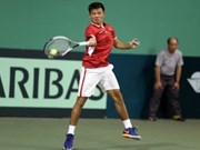 Ly Hoang Nam wins match at China F1 Men's Futures