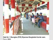 Myanmar reopens border gate with Bangladesh