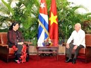 Vietnam, Cuba vow to reinforce relations