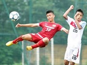 Vietnam draws with Yunnan in youth football tournament