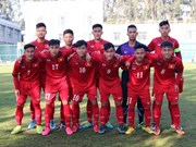Vietnam U19 lose to Chinese province