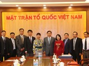 VFF official receives Chinese guest