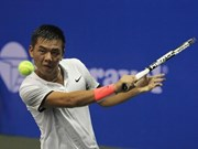 Top VN tennis player rises three spots in world rankings