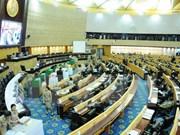 Thai legislature reviews draft laws