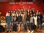Vietnamese students in France celebrate Lunar New Year