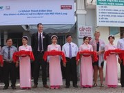 Dutch organisations support eye hospital in Vinh Long
