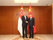 Singapore, China boost bilateral ties