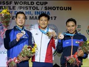 Vietnamese Olympic medalist wins World Cup shooting silver