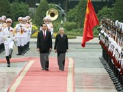 State President greets Japanese Emperor, Empress